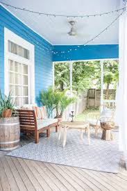 tye street blue porch design reveal thou swell