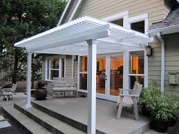 Patio Covers Las Vegas Cost by Small Louvered Roof Patio Cover Attached To The House Over A