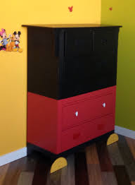 diy mickey mouse dresser our son u0027s room pinterest mickey