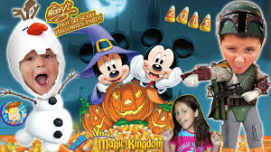 trick or treating in disney world mickey u0027s not so scary halloween