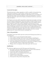 layout artist job specification best photos of job description layout sles free job description