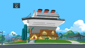 image the ship in the backyard jpg phineas and ferb wiki