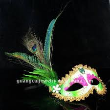 peacock masquerade masks fashion peacock feather mask masquerade party lace eye mask buy
