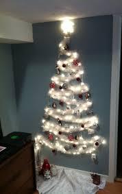 wall christmas tree christmas ideas