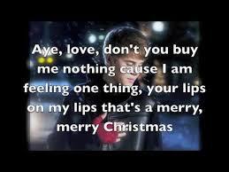 justin bieber mistletoe lyrics on screen justin bieber