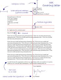 lay out of a cover letter 11274