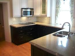 painted kitchen cabinet ideas black and white cabinets gallery