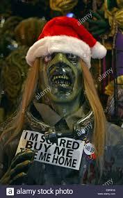 new york city halloween stores new york city scary santa claus in manhattan stock photo royalty