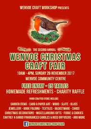 wenvoe christmas craft fair on 26 november at 10 00