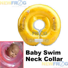 Baby Blow Up Bathtub The U201cfloating Neck Collar U201d U2013 Your Baby Can Swim The Pediatric
