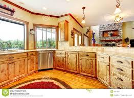 maison bois interieur construction maison bois americaine cuisine couleur maison