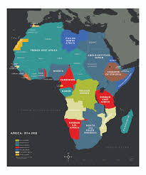 Map Of Colonies The War In Africa Olin U0026 Uris Libraries