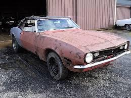 68 camaro project car for sale 1968 chevrolet camaro convertible for sale creston ohio