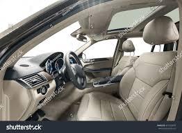 family car interior car inside driver place interior prestige stock photo 374122879