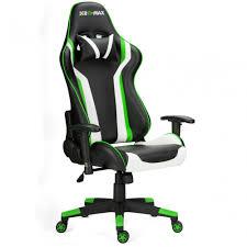 rg max gaming racing recliner chair green www raygardirect com