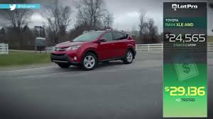 2014 Toyota Rav4 Xle Awd Review Lotpro Youtube
