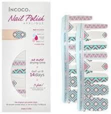 100 real nail polish strips nail appliques nail art incoco