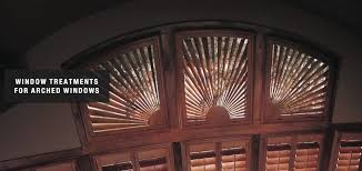 blinds shades u0026 shutters for arched windows scheman u0026 grant and