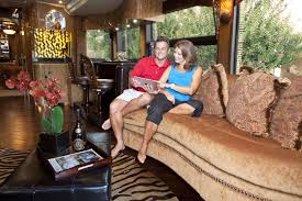 Million Dollar Furniture by Million Dollar High Tech Rv Builder Millennium Luxury Coaches