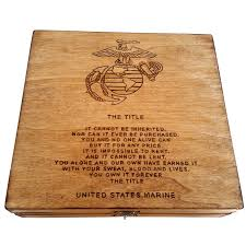 graduation memory box the title united states marine corps keepsake box five1designs