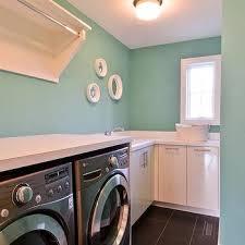 Tiffany Blue Interior Paint Tiffany Blue Paint Color Transitional Laundry Room Benjamin