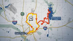 Austin Marathon Map by Bmw Dallas Marathon To Close Several Streets Nbc 5 Dallas Fort Worth