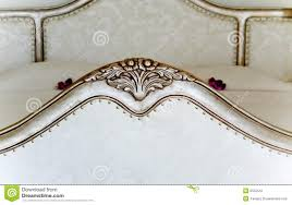 baroque bed detail royalty free stock photo image 24488535