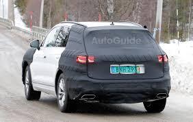 Future Vw Touareg New Volkswagen Touareg Begins To Take Shape In Latest Spy Photos