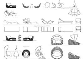 Cool Cad Drawings Furniture Dwg Models Free Download