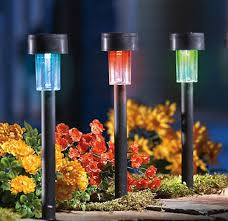 Best Path Lights by Color Changing Solar Pathway Lights Best Solar Garden Lights