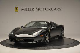 used 458 spider 2012 458 spider stock f1720a for sale near greenwich ct