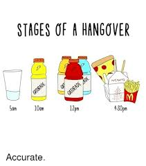 Hangover Meme - stages of a hangover 10am 430pm l2pm sam accurate hangover meme on