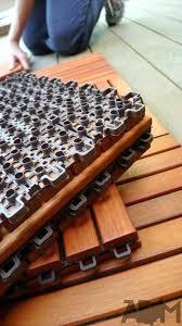 deck tiles over concrete patio wood deck tiles over concrete patio