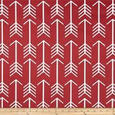 Kitchen Curtain Material by Red Geometric Upholstery Fabric Bright Red And By Popdecorfabrics