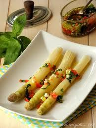 comment cuisiner des asperges blanches asperges blanches vapeur à la sauce vierge de recettes bio