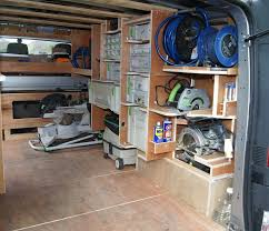 Ford Transit Connect Shelving by Van Racking Thisiscarpentry