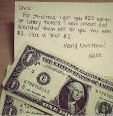 Christmas Present Meme - lottery ticket christmas gift memes viral viral videos