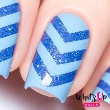 chevron tape for nail art
