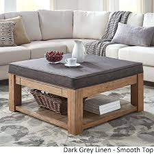 Storage Ottoman Uk Padded Coffee Table How To Build A Storage Ottoman Coffee Table