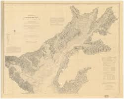 Chesapeake Bay Map Historical Nautical Charts Of The Chesapeake Bay 1 80 000