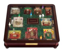 clue museum luxury wood collectors edition classic board game with