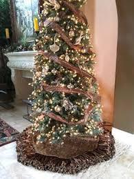 brown christmas tree skirt luxurious chocolate brown christmas tree skirt by reilly chance
