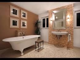 modern freestanding tub white marble bathroom floor tile under oval