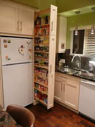kitchen narrow apartment kitchen design with pull out drawers