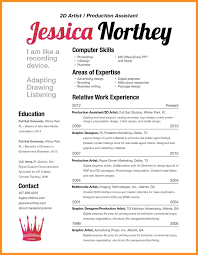 Fill In The Blank Resume About Me In A Resume Resume For Your Job Application