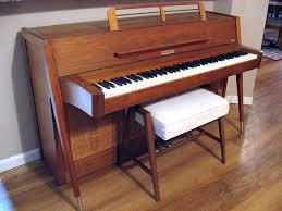 Baldwin Piano Bench - vintage baldwin acrosonic piano in danish modern style mid