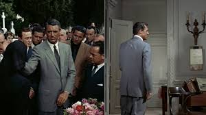cary grant u0027s gray suit in to catch a thief bamf style