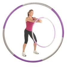 amazon com bodyfit by sports authority 2 5lb weighted hula hoop