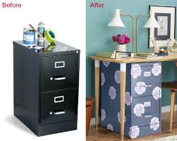 Decorative File Cabinets 15 File Cabinet Makeovers Diy Ideas To Update An Old File Cabinet