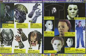 spirit halloween catalog masks of the 2004 halloween outlet fright catalog blood curdling